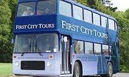 First City double-deck bus tour