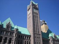 Minneapolis City Hall and Hennepin County Courthouse