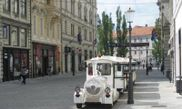 Ljubljana walking tour and tourist train ride