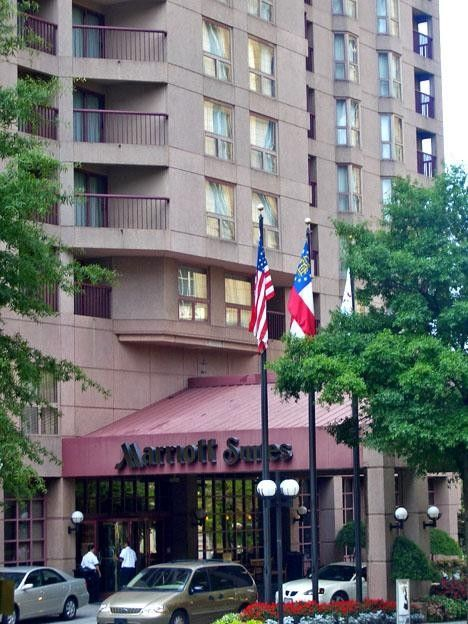 Marriott Suites Atlanta Midtown (Bâtiment)