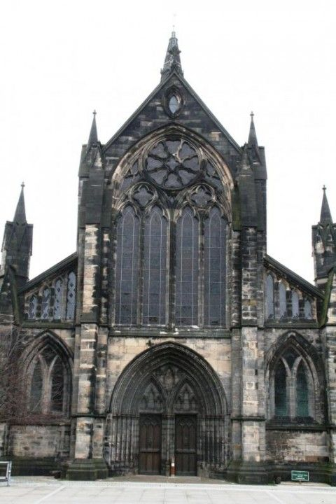 Glasgow Cathedral (Exterior view)