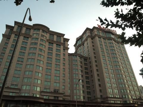 Marriott City Wall Beijing (Btiment)