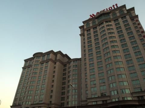 Marriott City Wall Beijing (Bâtiment)