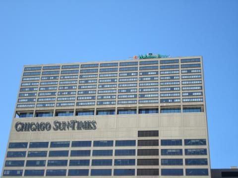 Holiday Inn Chicago-Mart Plaza Riverview (Building)