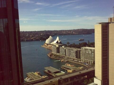 Marriott Sydney Harbour (Ausblick)
