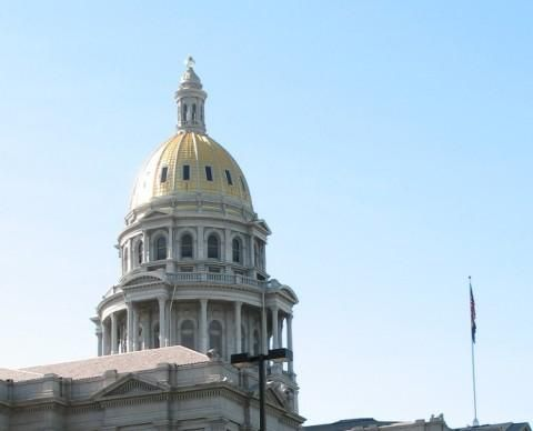 Colorado State Capitol (Detail)