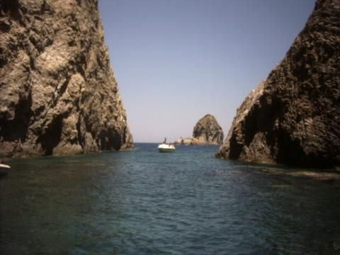 Isola di Palmarola (Veduta)