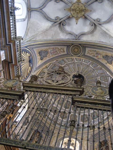 Sacra capilla del Salvador (Vista interior)