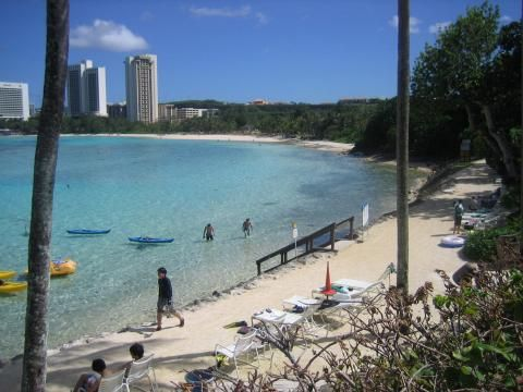 Beaches of Tumon Bay (Panorama)