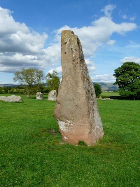 Long Meg & her daughters (Surroundings)