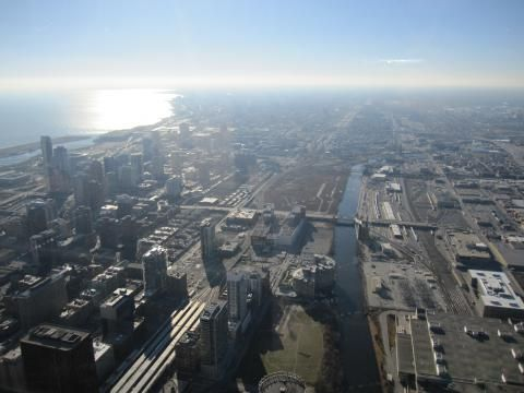 Willis Tower Skydeck (View)