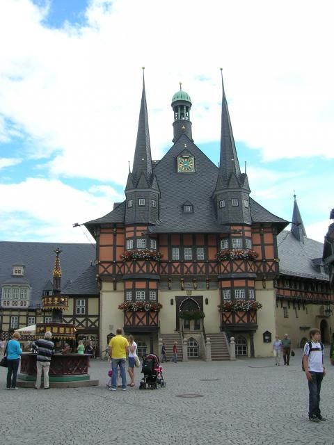 Rathaus Wernigerode (Aussenansicht)