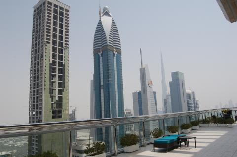 Four Points by Sheraton Sheikh Zayed Road (Zonas comunes exteriores)