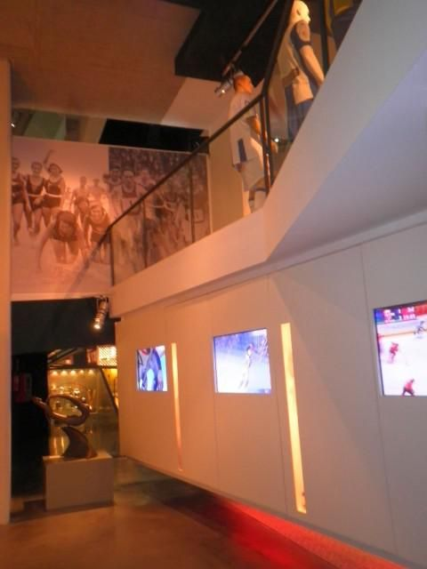 Olympic Museum (Interior view)