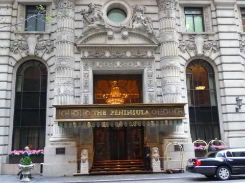 The Peninsula New York (Zonas comunes exteriores)