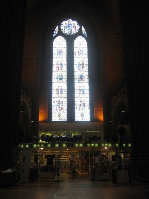 Liverpool Anglican Cathedral (Interior view)