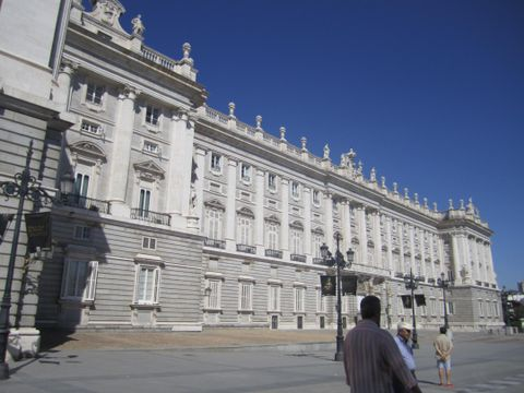 Palacio Real (Vue extrieure)