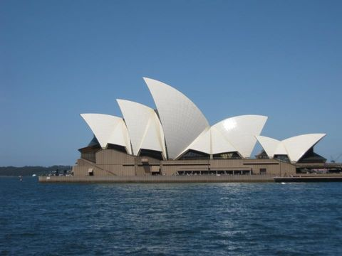 pera de Sydney (Vista exterior)