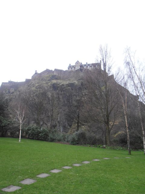Edinburgh Castle (Exterior view)