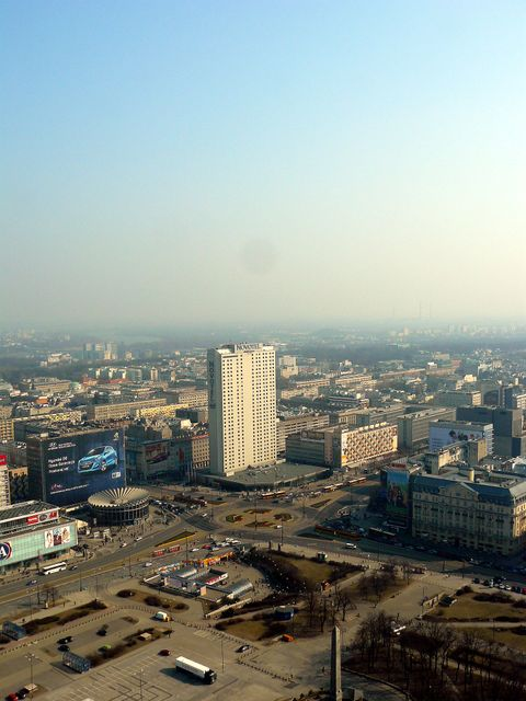 Novotel Warszawa Centrum (Ausblick)