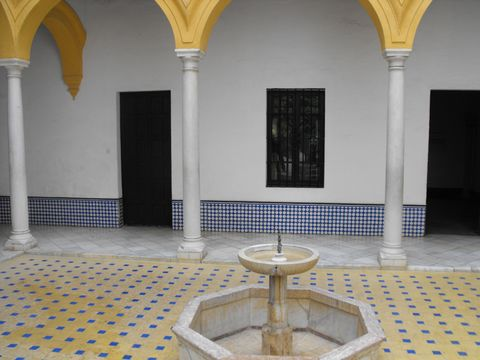 Real Alcázar (Vista interior)