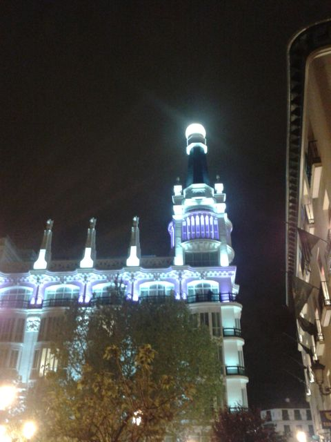 Me Madrid Reina Victoria (Gebude)