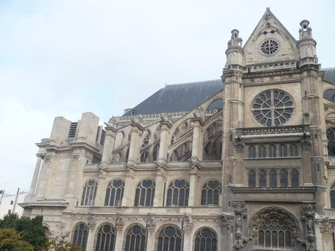 Saint-Eustache (Aussenansicht)