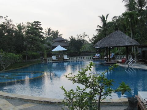 Santi Mandala Villa & Spa (Piscine exterieure)