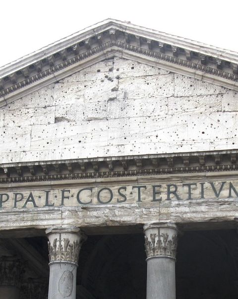 Pantheon (Detail)