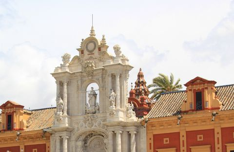 Palacio de San Telmo (Detalle)